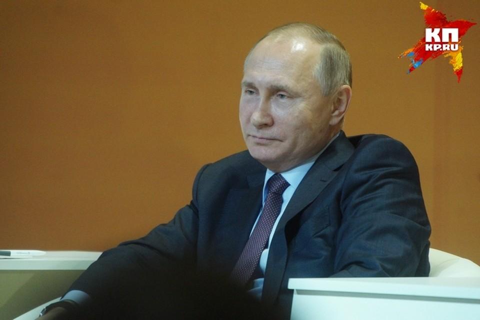 Путин прибыл в Кемерово почтить память погибших при пожаре в ТЦ