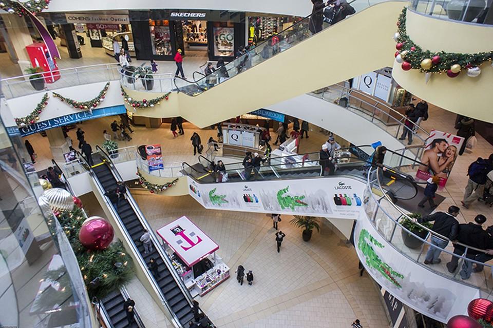 B 2017 году в торгово-развлекательных центрах Нью-Йорк пожары были шесть раз
