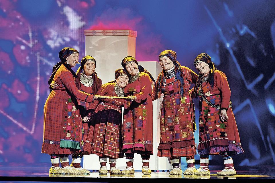 «Бурановские бабушки» на «Евровидении» в 2012 году заняли второе место.