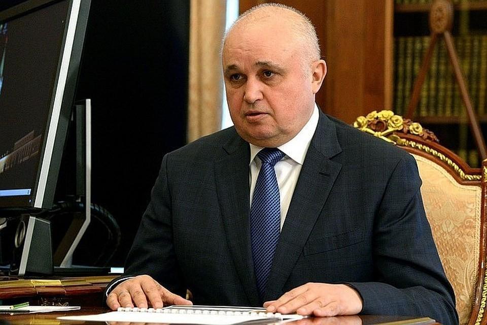 Сергей Цивилев занимал дожность заместителя Тулеева с 5 марта Фото: kremlin.ru