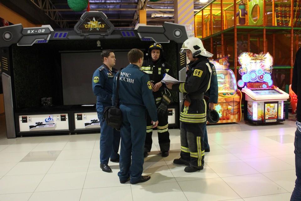 В торговых центрах Симферополя проводят проверки.