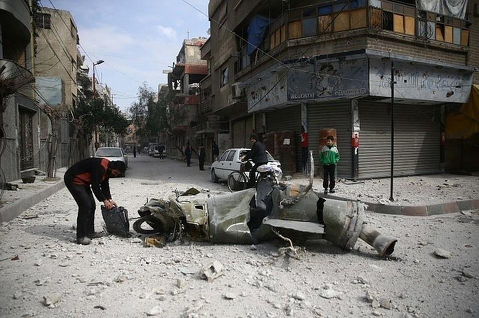 В Минобороны РФ опровергли применение сирийскими войсками химоружия в городе Дума
