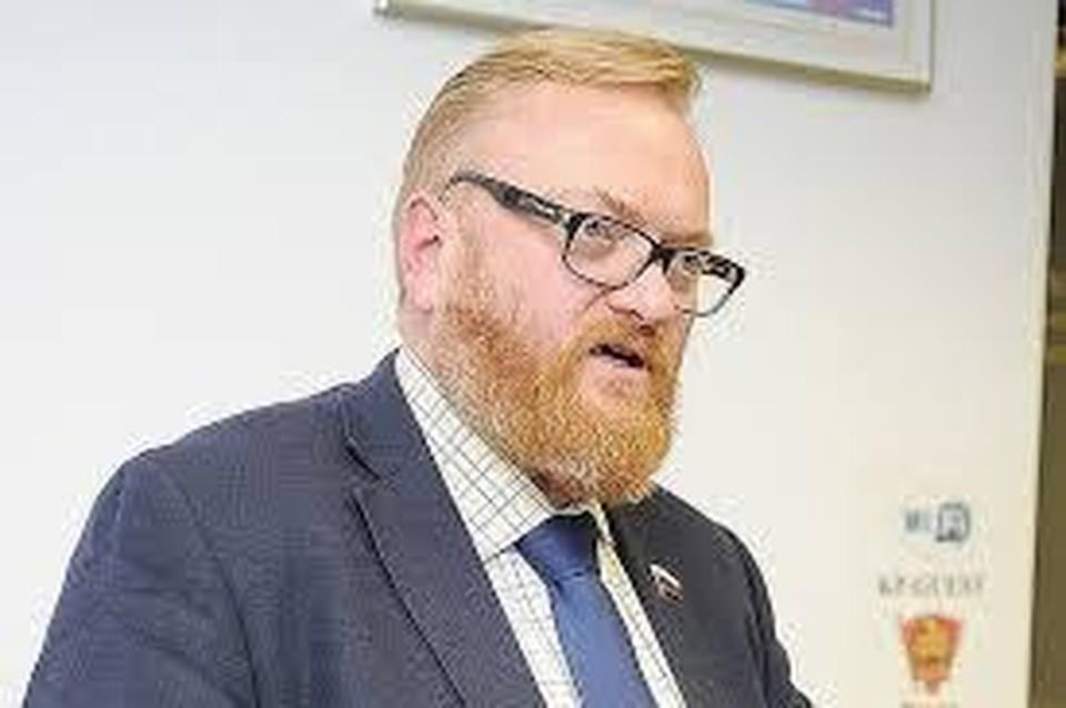 Член комитета Госдумы по международным делам Виталий Милонов