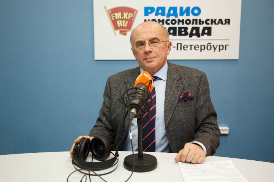 Александр Запесоцкий - постоянный гость Радио «Комсомольская правда в Санкт-Петербурге»