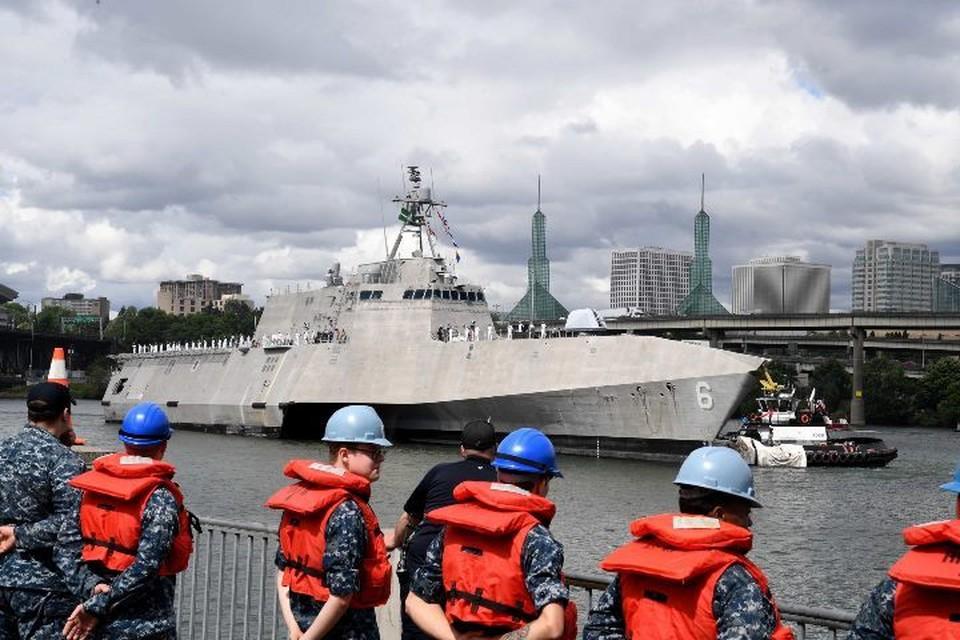 Корабль ВМС США USS Portland введен в строй. Фото: сайт пресс-службы ВМС США