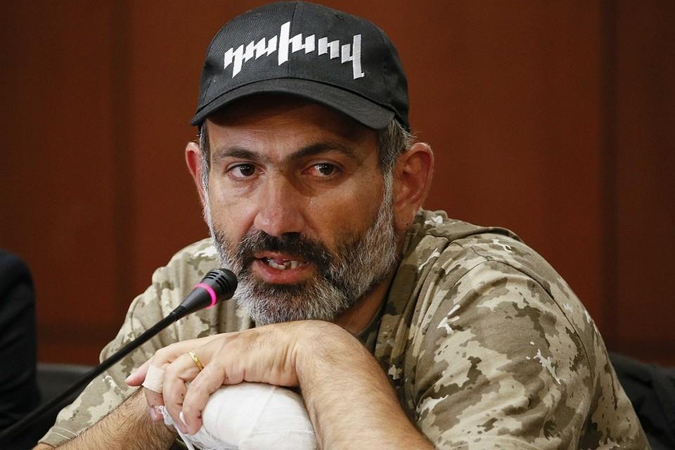 Лидер оппозиции в Армении Никол Пашинян