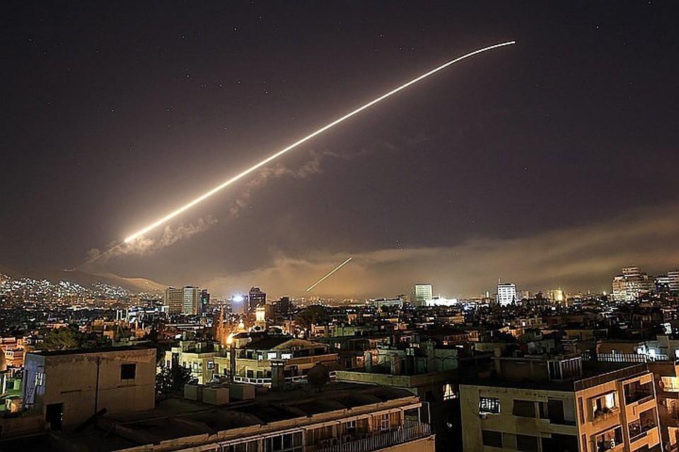 14 апреля США и их союзники нанесли серию ракетных ударов по Дамаску