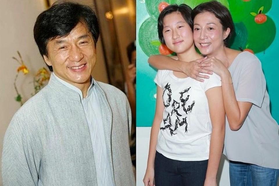 Дочь Джеки Чана Эта родилась от мимолетной связи артиста с королевой красоты Элейн Нг.