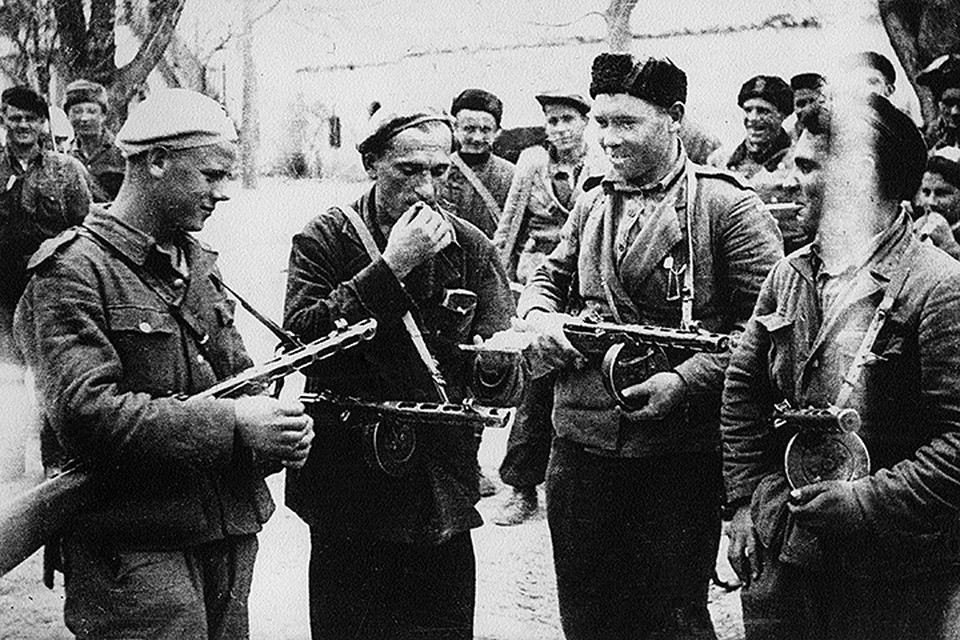 Пистолет-пулемет Шпагина, знаменитый ППШ, самый массовый автомат Великой войны