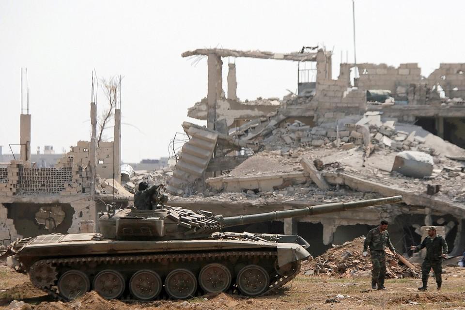 Четверо российских военных погибли в Сирии