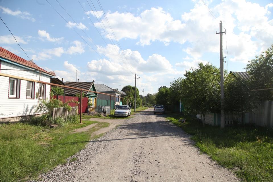 Улица, на которой живет семья Подпориных, уходит в тупик