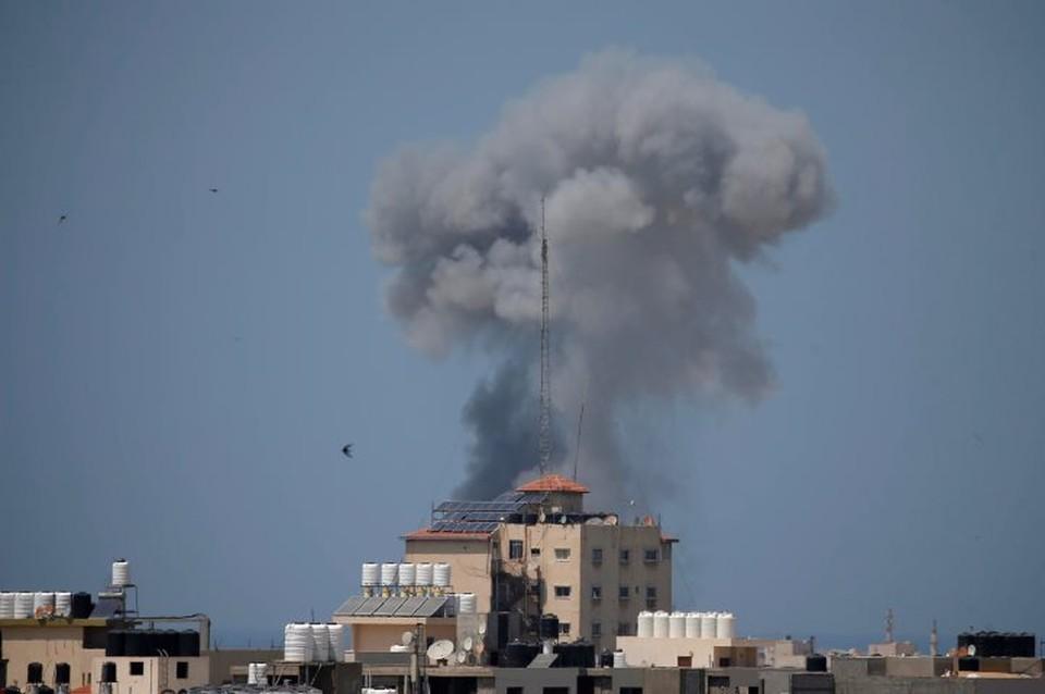 Удар Израиля по сектору Газа