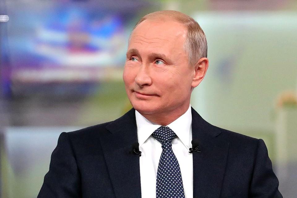 Владимир Путин хотел бы побольше общаться со своими внуками