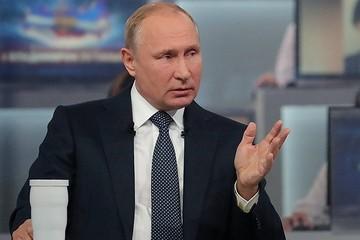"""""""Прямая линия"""" с Владимиром Путиным: самые яркие заявления президента"""