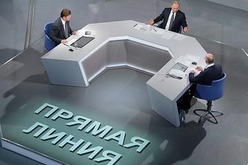 Реакция западных СМИ на «прямую линию» с Путиным
