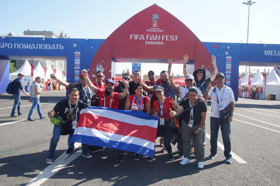 Костариканцы уже готовятся поддерживать свою команду