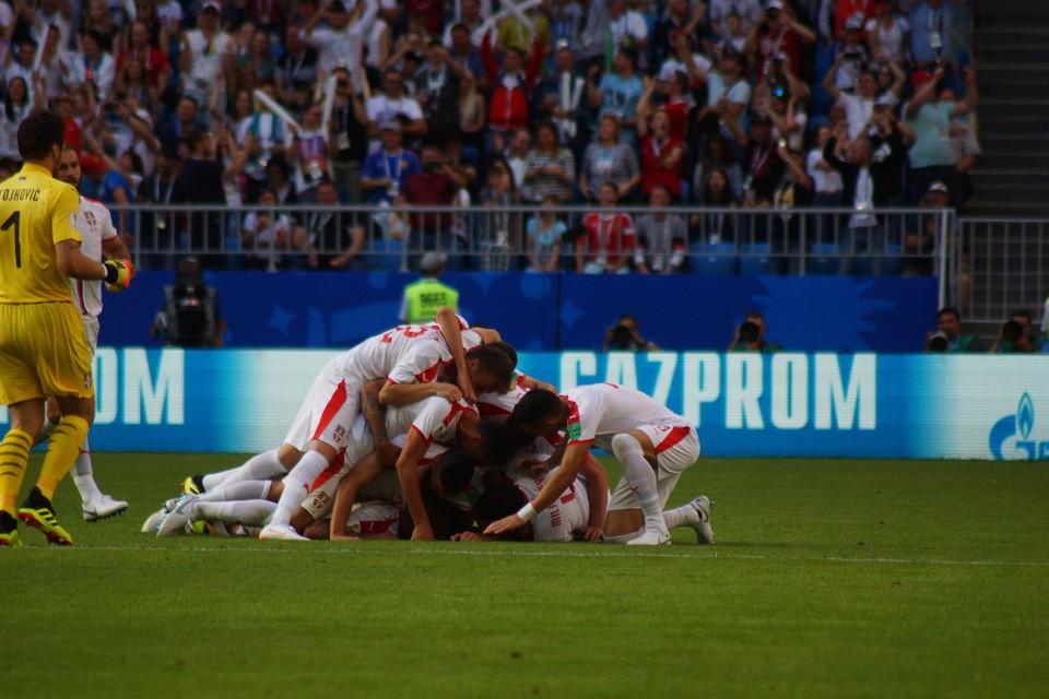 Первый гол стал и последним. Но сербов порадовал