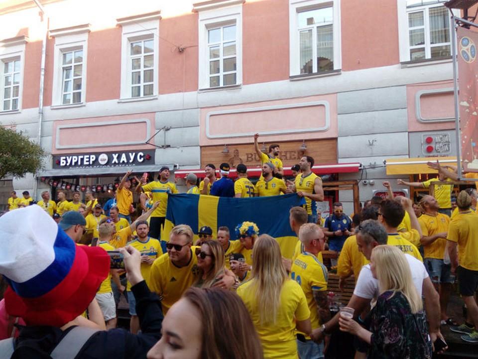 150 шведских болельщиков не попали на матч в Нижний Новгород