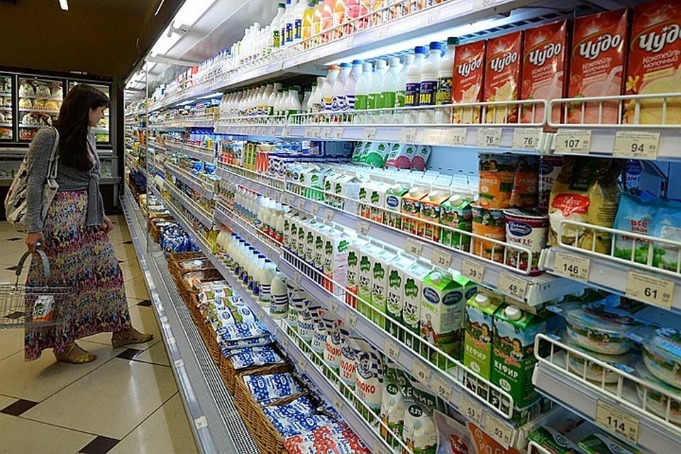 Молоко в пластиковой таре признано опасным для человека