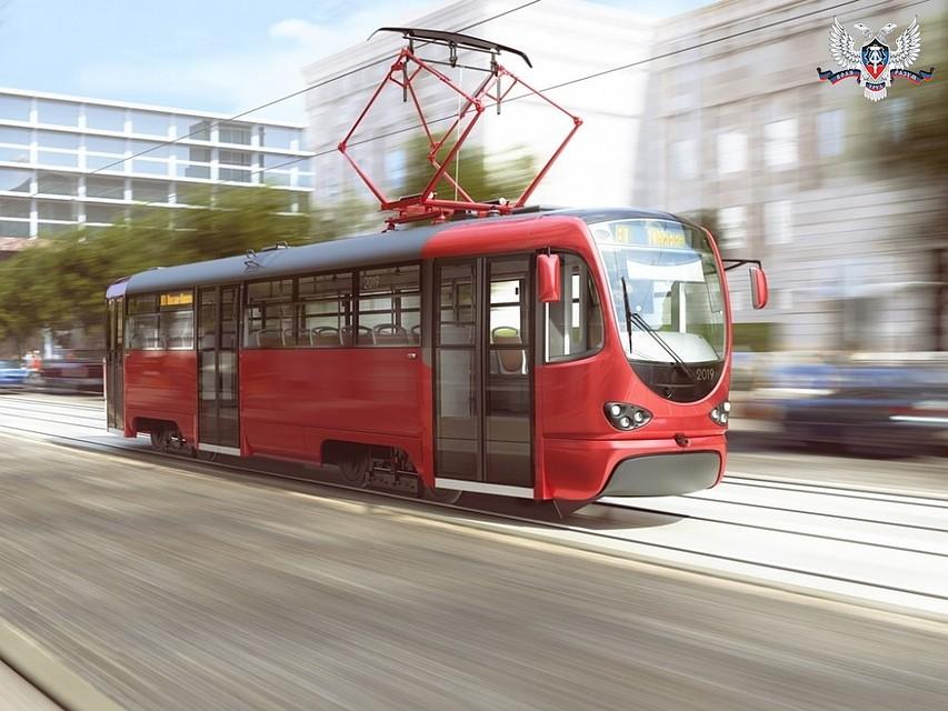 Уже скоро станет известно название первого республиканского трамвая ДНР
