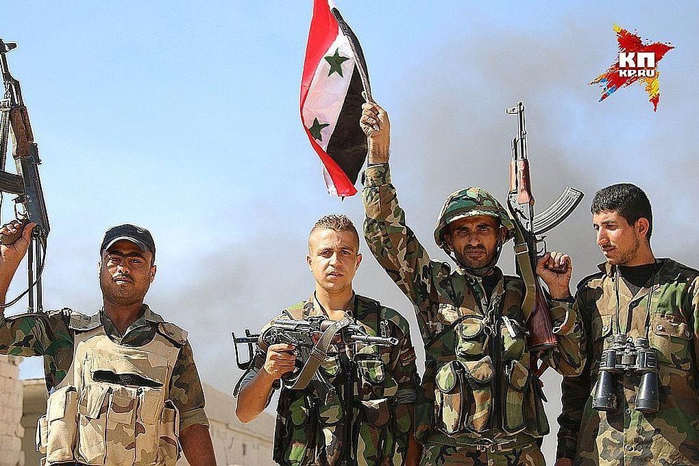 Правительственная армия Сирии зачистила от боевиков ИГ* пустынный регион на границе с Ираком