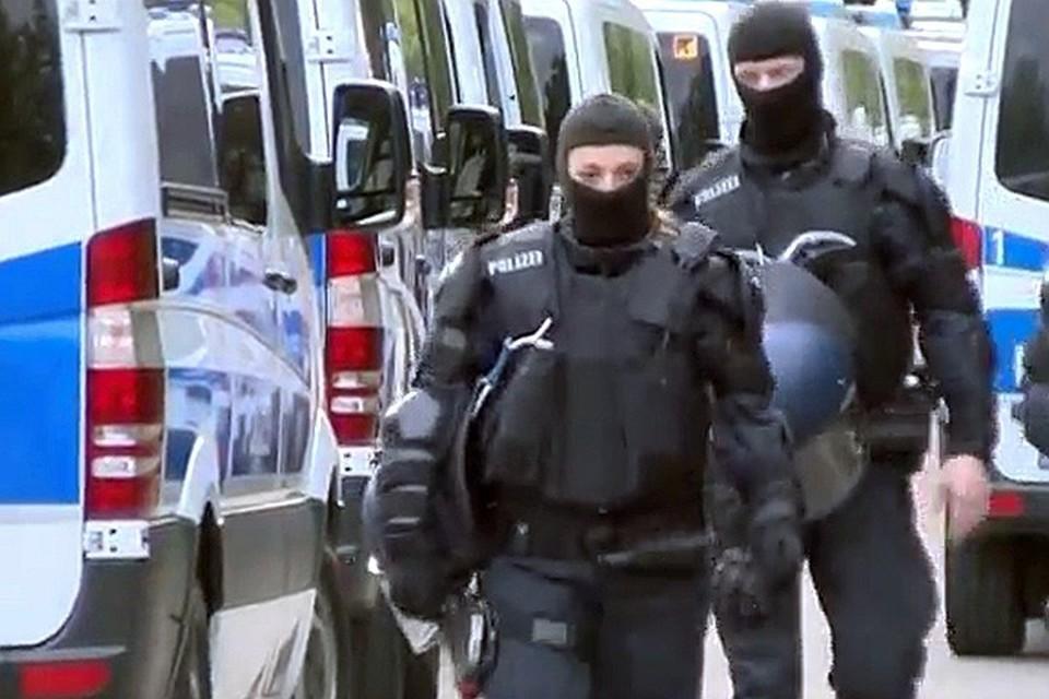 Полицейские выясняют все обстоятельства взрыва в жилом доме Бремена