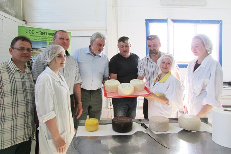 За время практики студенты смогли сами приготовить изысканные итальянские сыры. Фото предоставлено НГСХА.