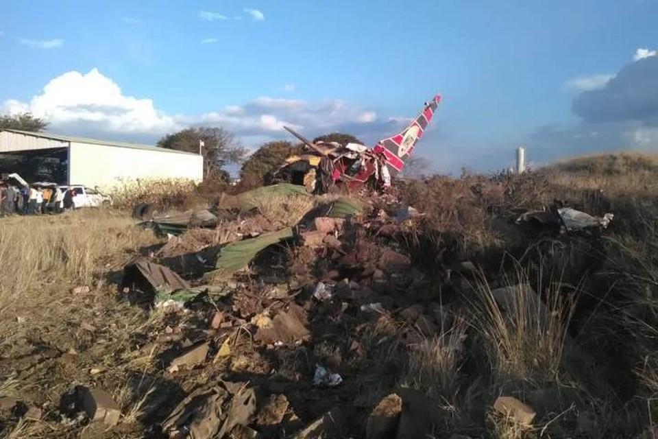 При крушении самолета в ЮАР погиб один человек. Фото: Twitter/@ER24EMS
