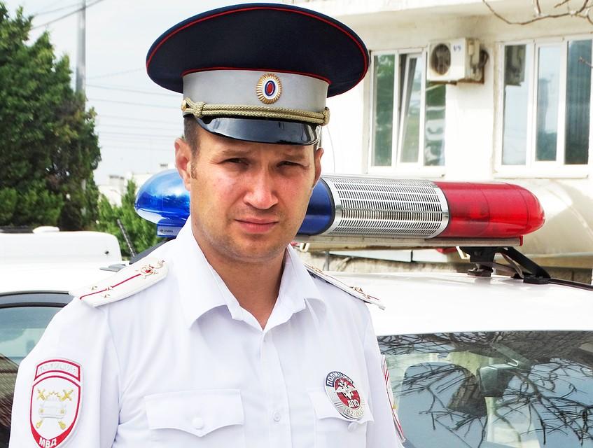 Борис Копин смог предотвратить трагедию на дороге. Фото предоставлено пресс-службой УГИБДД по городу Севастополю