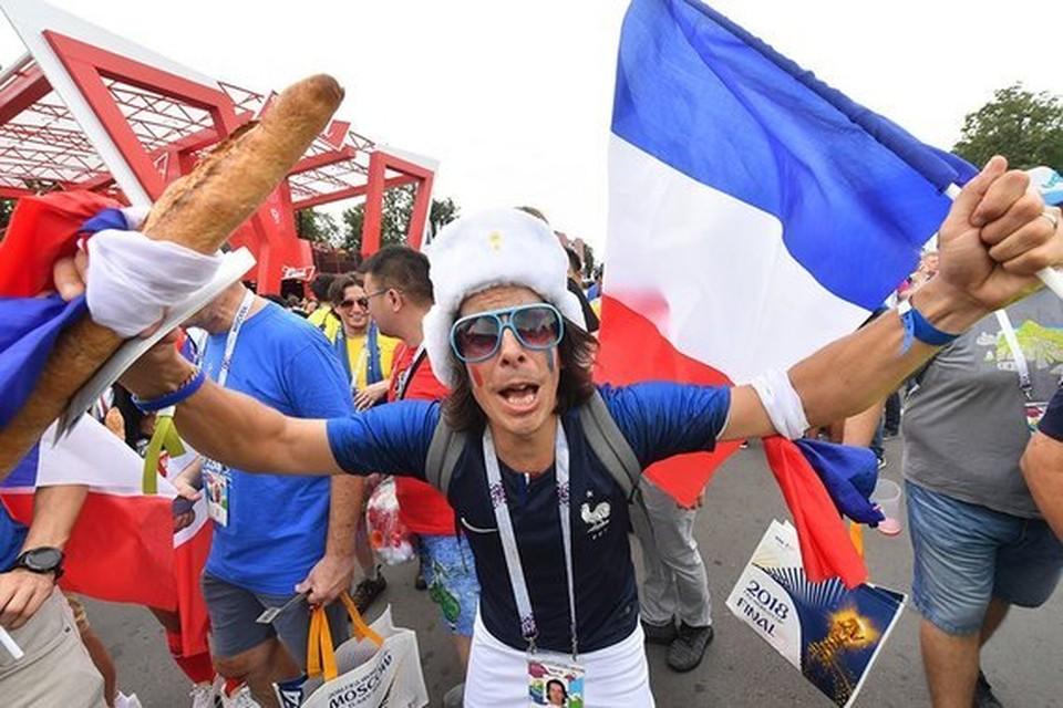 Фанаты сборной Франции верили в победу своей команды