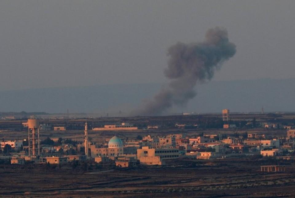 Израиль нанес ракетный удар по сирийским военным объектам