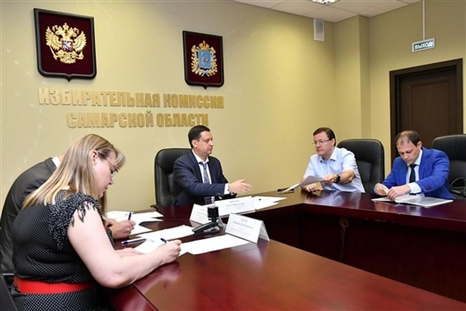 Дмитрий Азаров подал документы для участия в выборах губернатора Самарской области