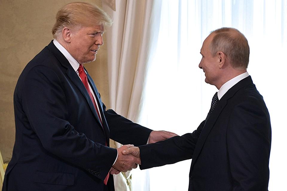 Американский лидер после завершения переговоров тет-а-тет заявил, что встреча с Путиным в Хельсинки это очень хороший старт для всех