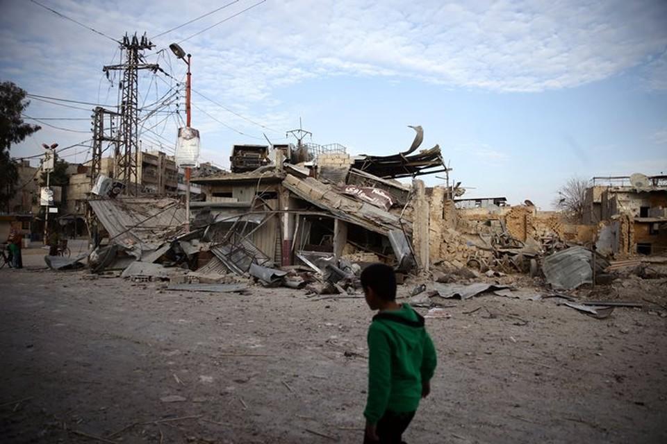 Самолеты коалиции обстреляли дома мирных жителей в Сирии