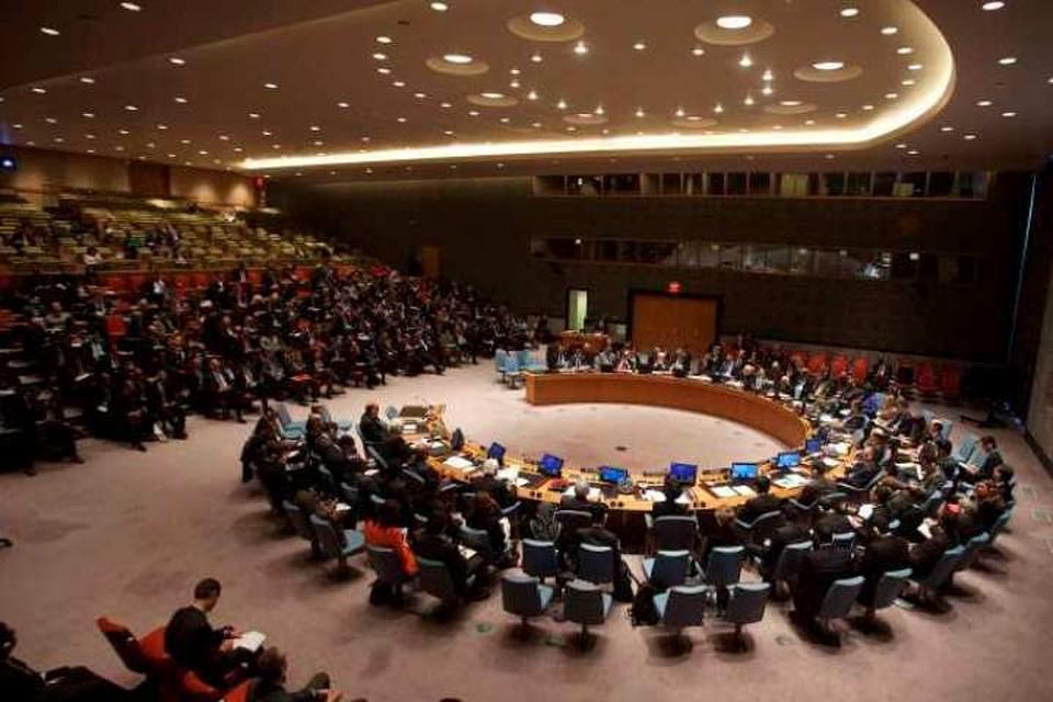 США заблокировали в Совбезе ООН инициативу России по Ближнему Востоку