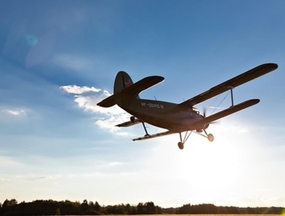 В Америке потерпел крушение легкомоторный самолет