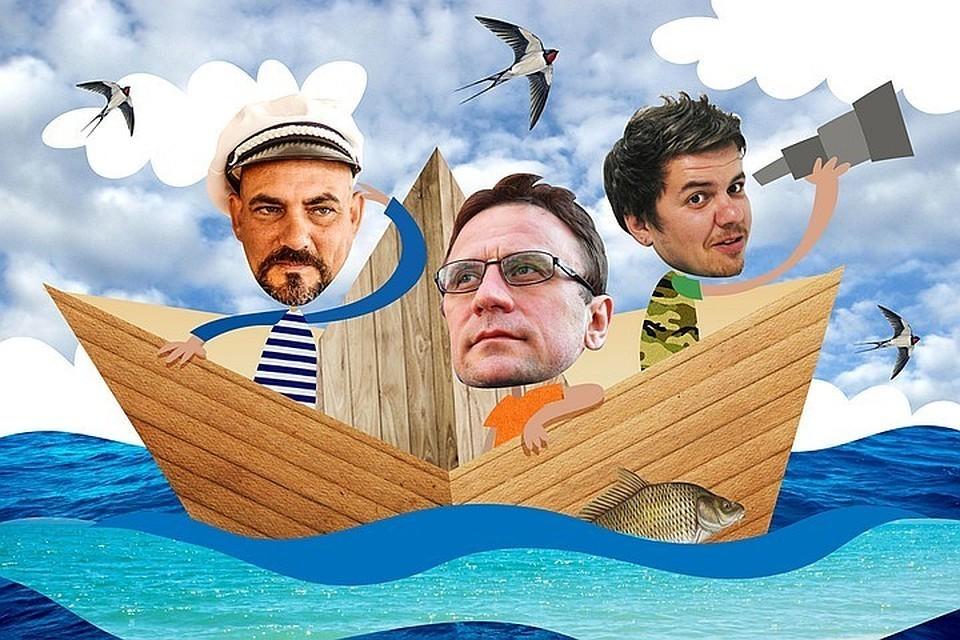 Дмитрий Стешин, Виктор Гусейнов и Владимир Ворсобин отправились в путешествие по великой реке