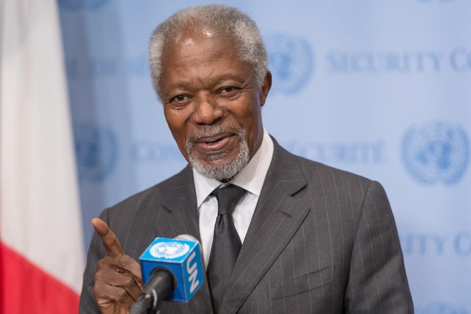 "Кофи Аннан стал ""поперек горла"" Джорджу Бушу-младшему."