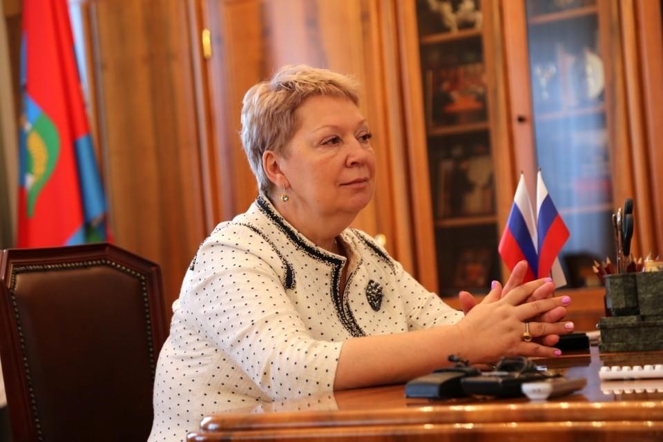 Министр прощения Ольга Васильева побывала в Орле с рабочим визитом