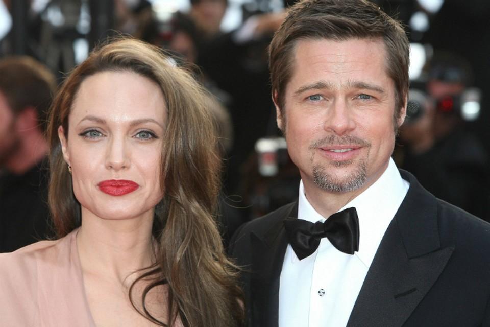 Анджелина Джоли и Брэд Питт смогли договориться.