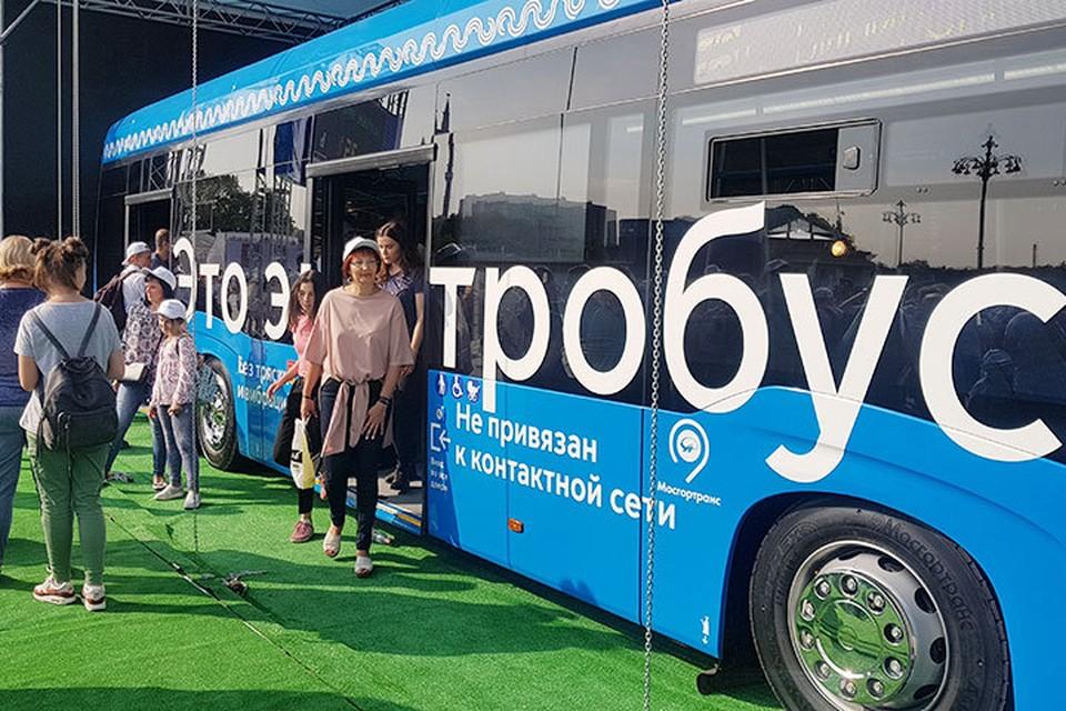 Новый иновационный транспорт появился в Москве