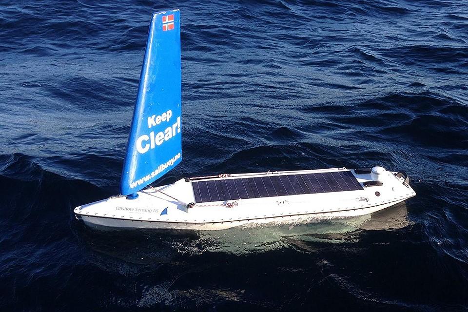 Беспилотному судну потребовалось 2,5 месяца на трансатлантическое путешествие. ФОТО Offshore Sensing Facebook