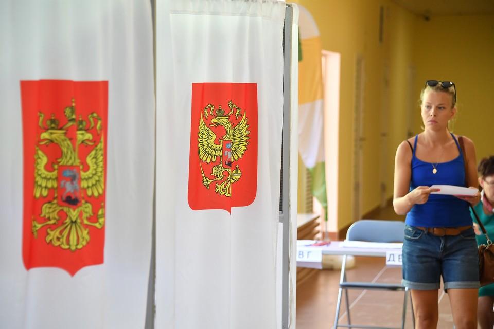 Явка на выборах губернатора Московской области по данным на 22.15 составила 37,02%