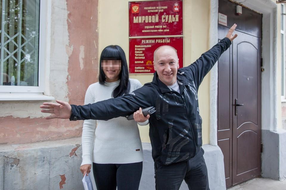 Александр Шурман доволен решением суда.