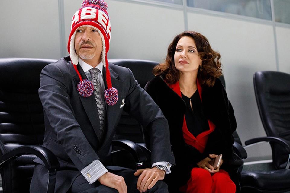 Федор Бондарчук сыграл спонсора клуба «Медведи», а Екатерина Климова - спортивного директора команды