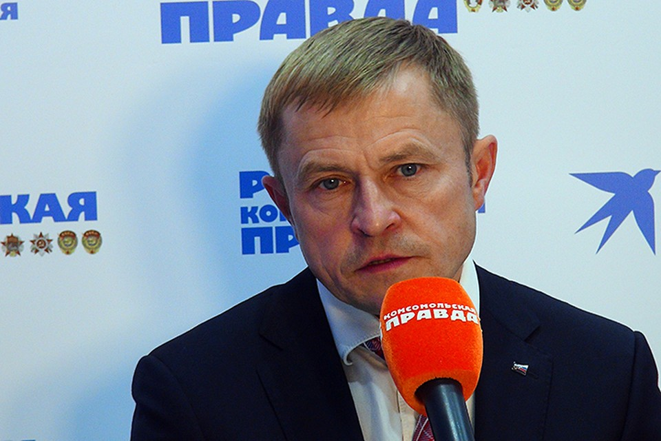 Глава ОПОРЫ России Александр Калинин