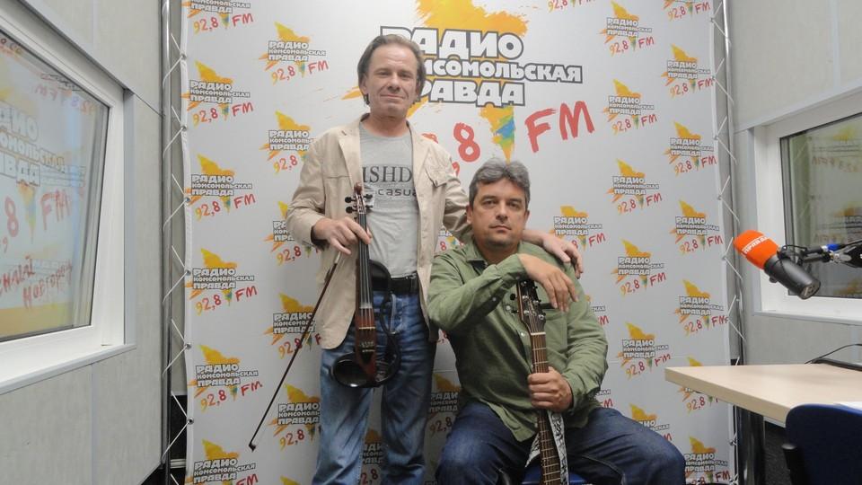 друзья Алексея «Полковника» Хрынова, музыканты Максим Поведский и Александр Яковлев