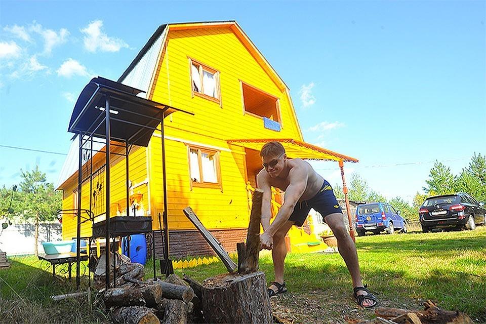 В России стали меньше строить частных домов