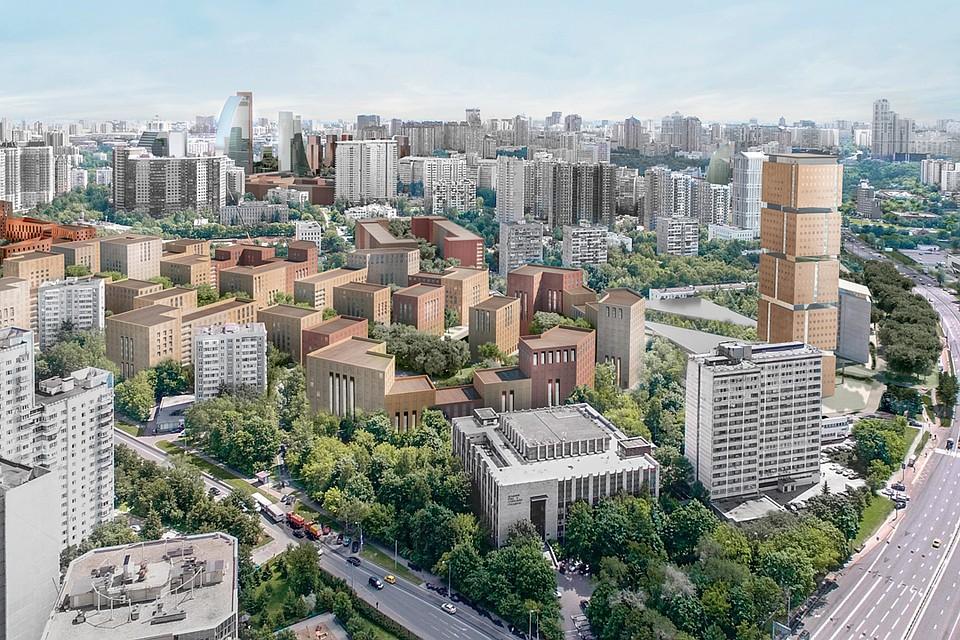 Лучшие проекты кварталов реновации в Москве  Сады на крышах, 3-метровые  потолки в квартирах и сакура во дворах 0541fb2e3c3