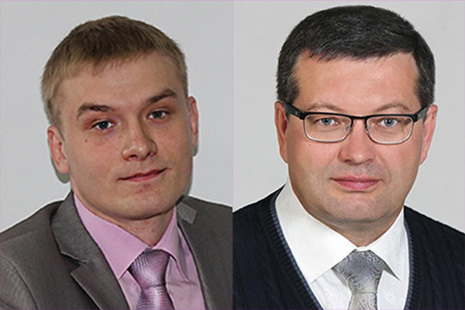 Кандидаты на пост главы Хакасии: Валентин Коновалов и Андрей Филягин. Фото: с официальных сайтов партий